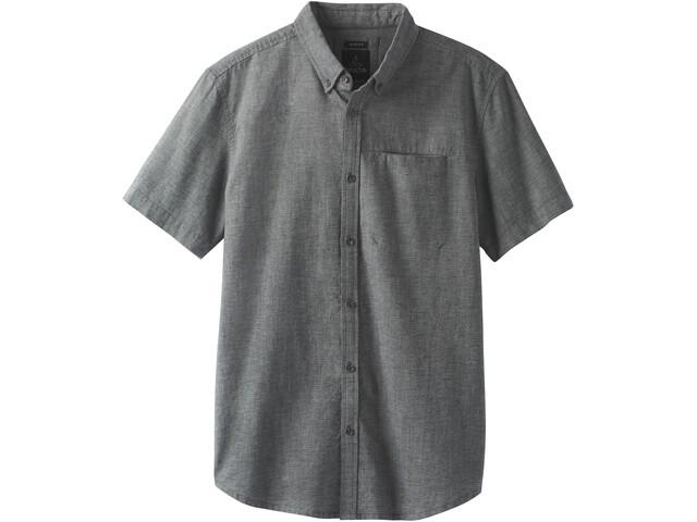 Prana Agua Slim Kurzarm T-Shirt Herren black